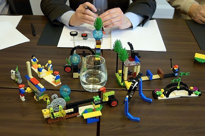 Lego Serious Play exercise