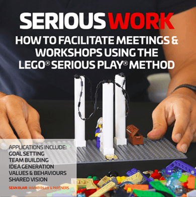 Serious Work Lego Serious Play book